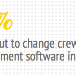 Survey: Majority is looking for online crew management software